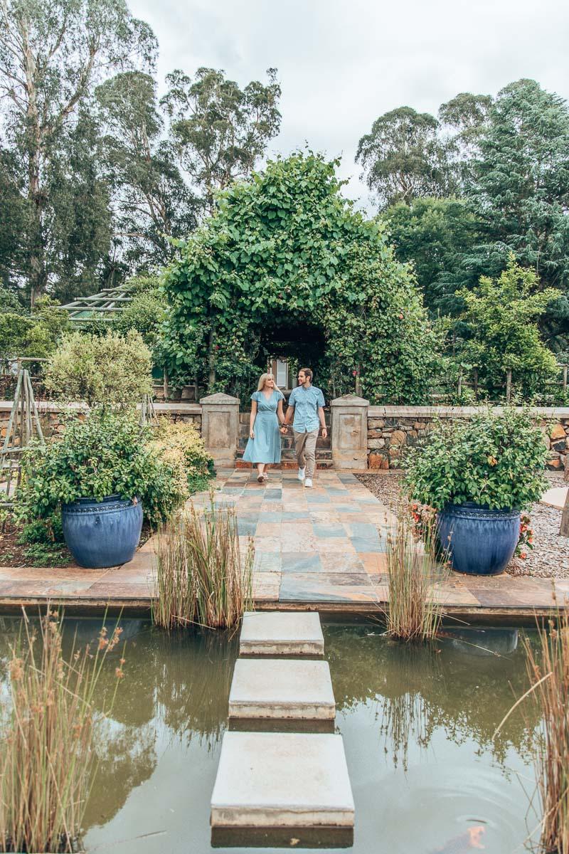 Byron & Tammy at the Hartford House Gardens