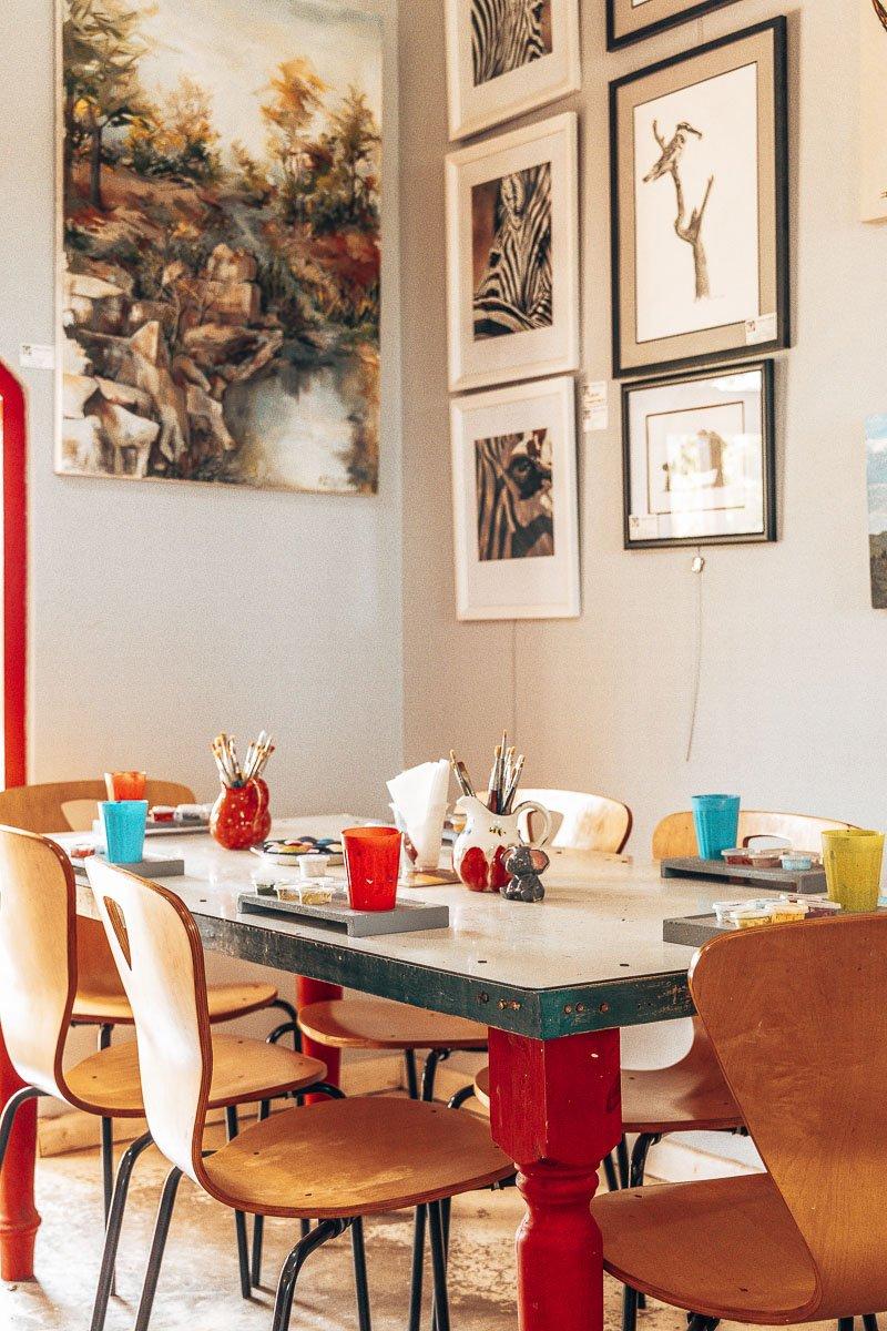 Zulu Lulu Art House Painting Station