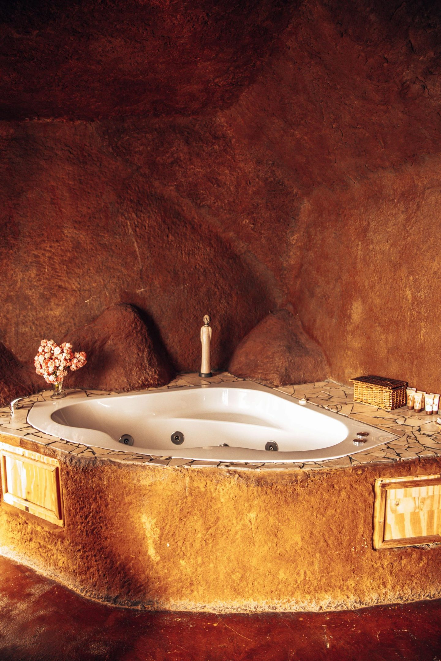 Bathtub in the cave