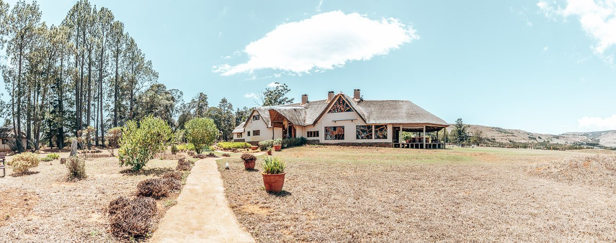The Main Entertainment hall at Antbear Eco Lodge