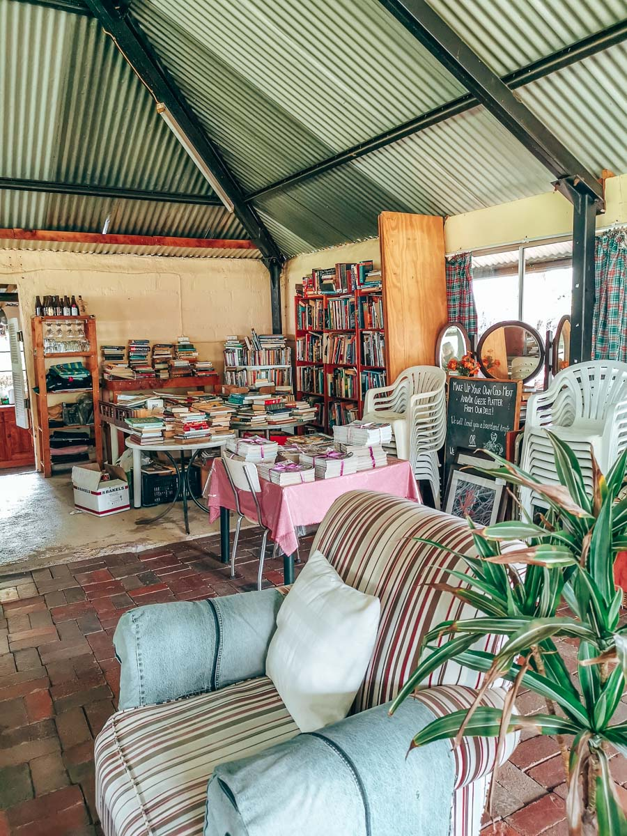 Old charity bookshop