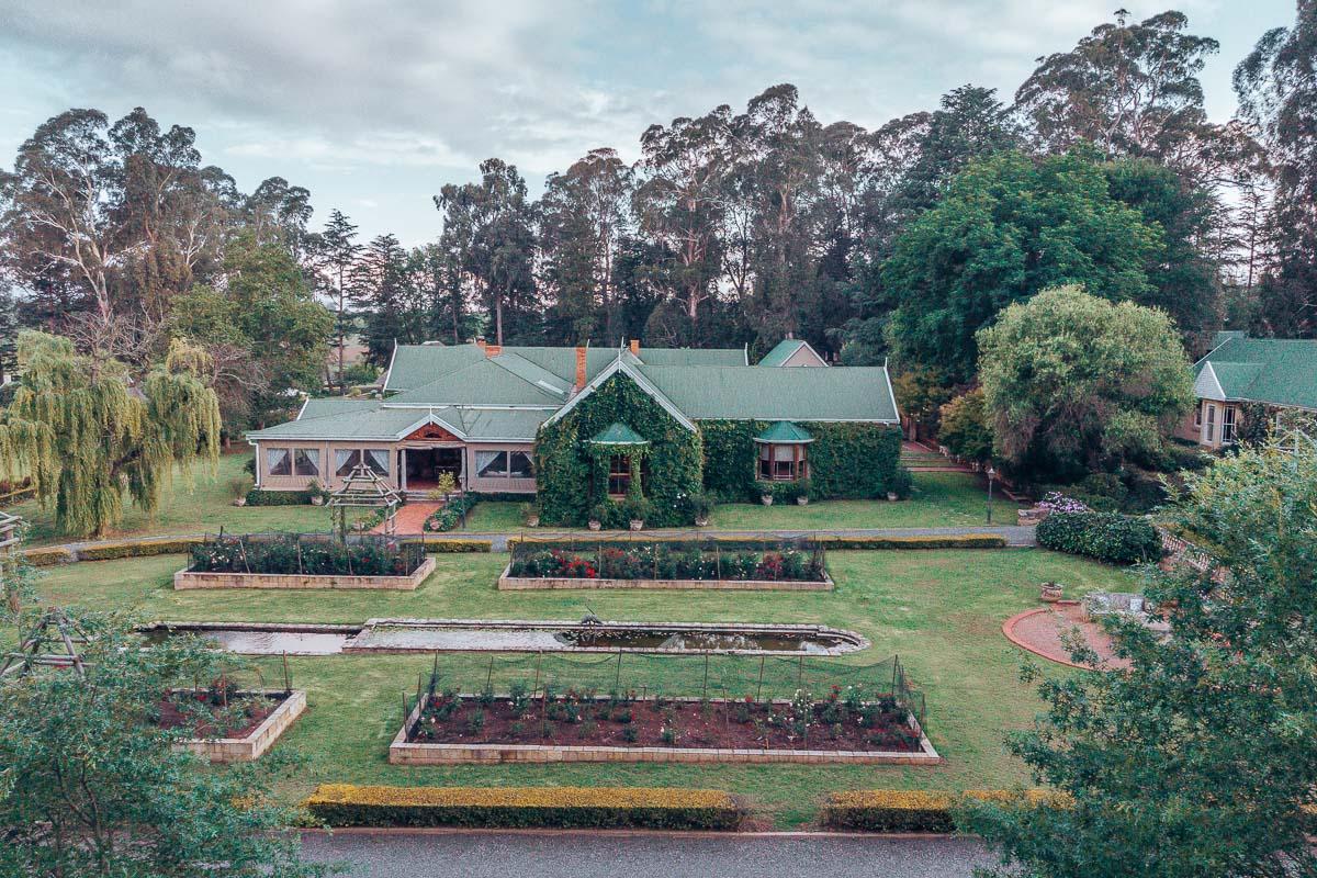The Main House at Hartford House