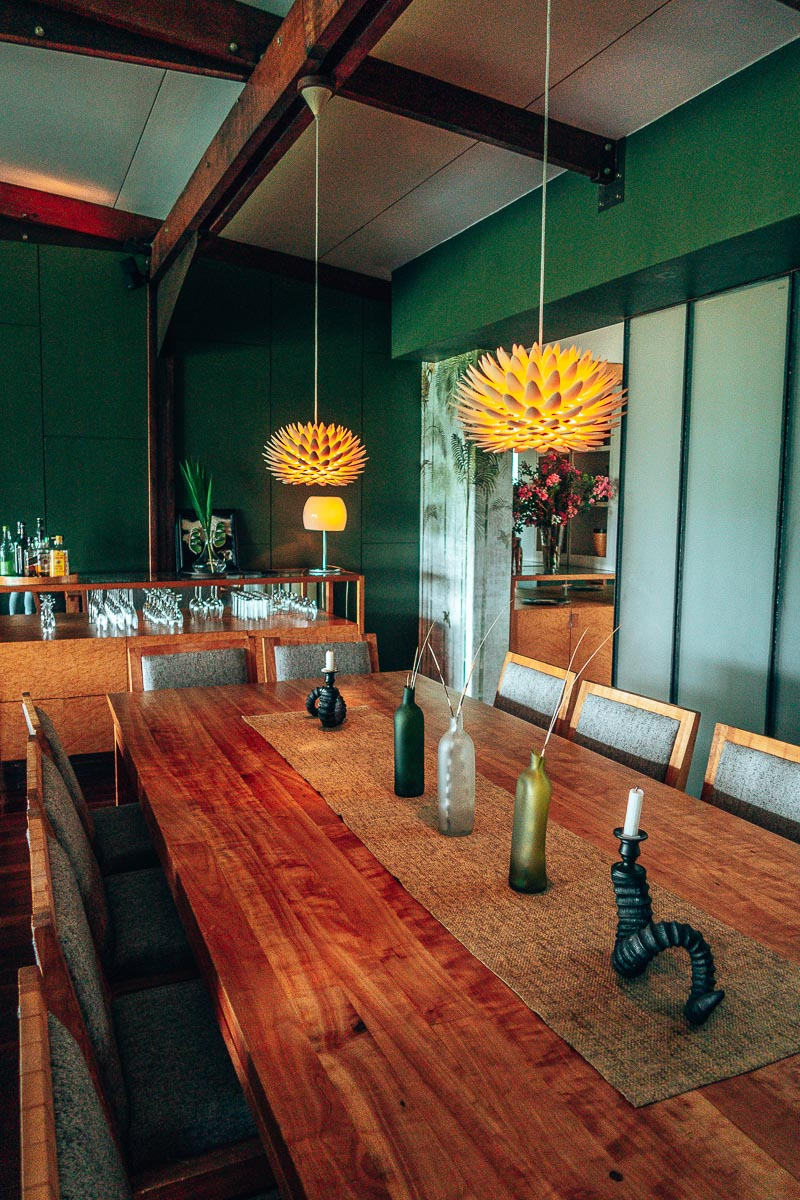 Dinning Room at Zulu Waters Game Reserve @DearTravallure