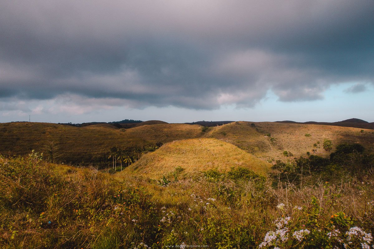 Teletubbies Hill on Nusa Penida