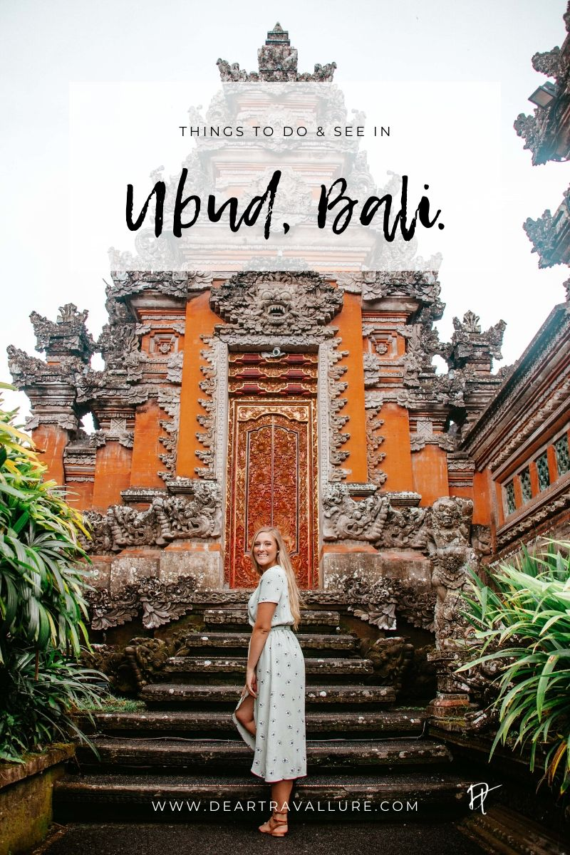 Things To Do & See In Bali - Pinterest