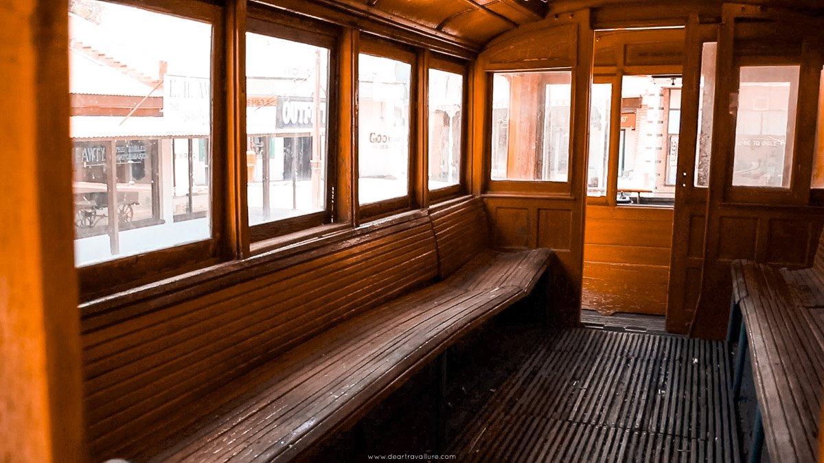 An Old Wooden Train Carriage