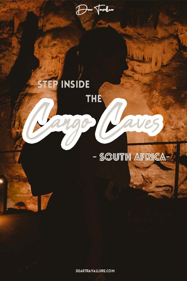 Pinterest Image for The Cango Caves