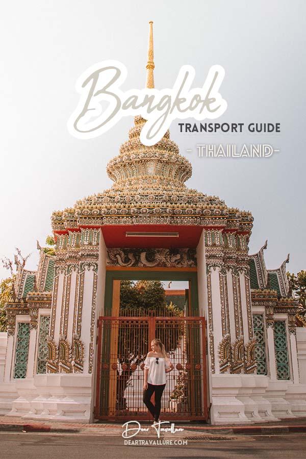 Bangkok Transport Guide Pinterest Image