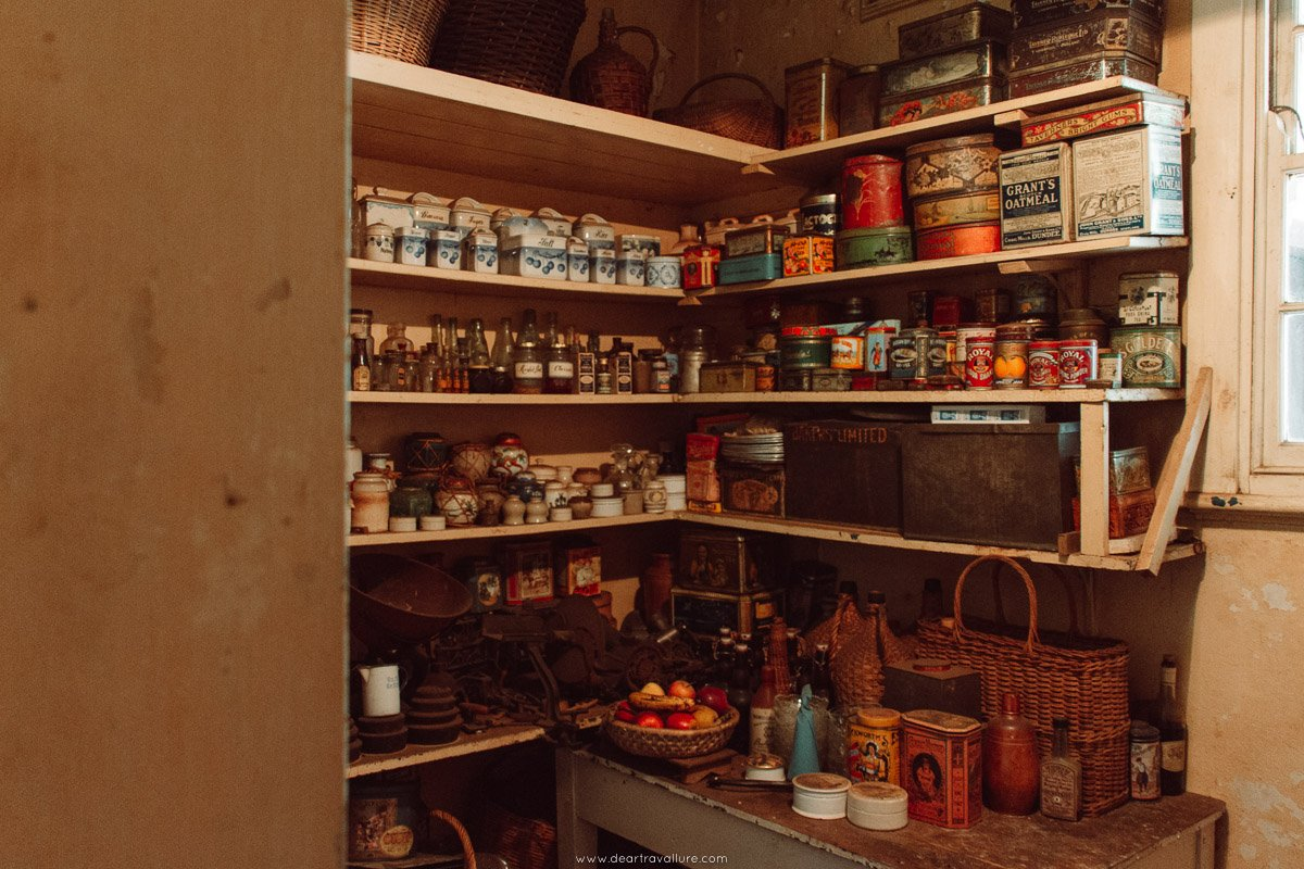 Looking at a Victorian Pantry
