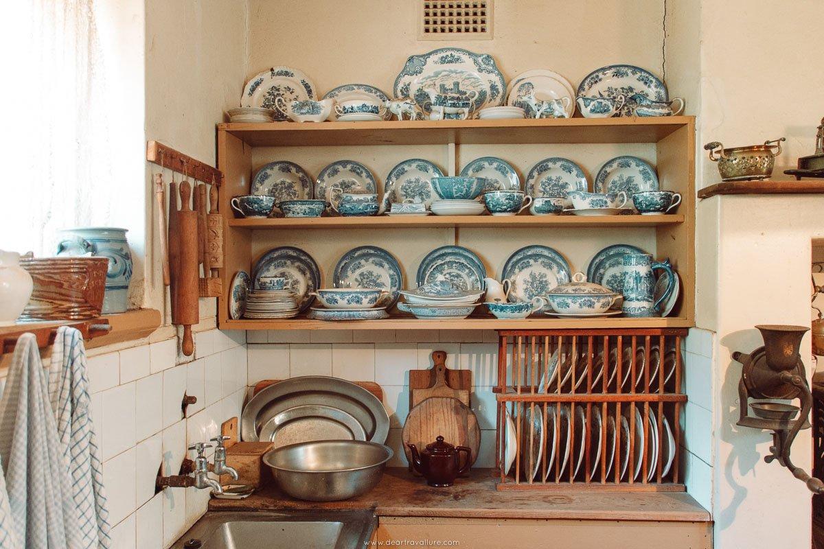 Kitchenware in a Victorian Kitchen