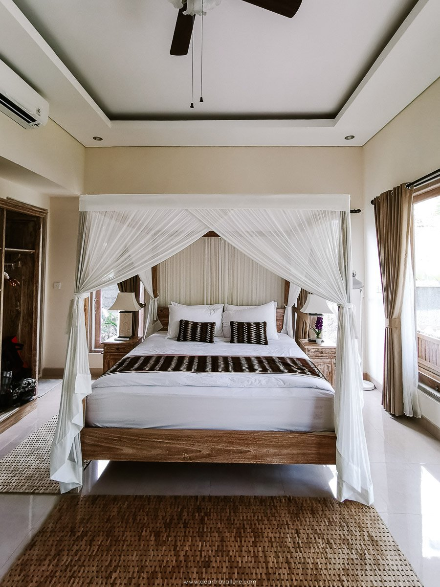 Our Bedroom in our Bali Villa