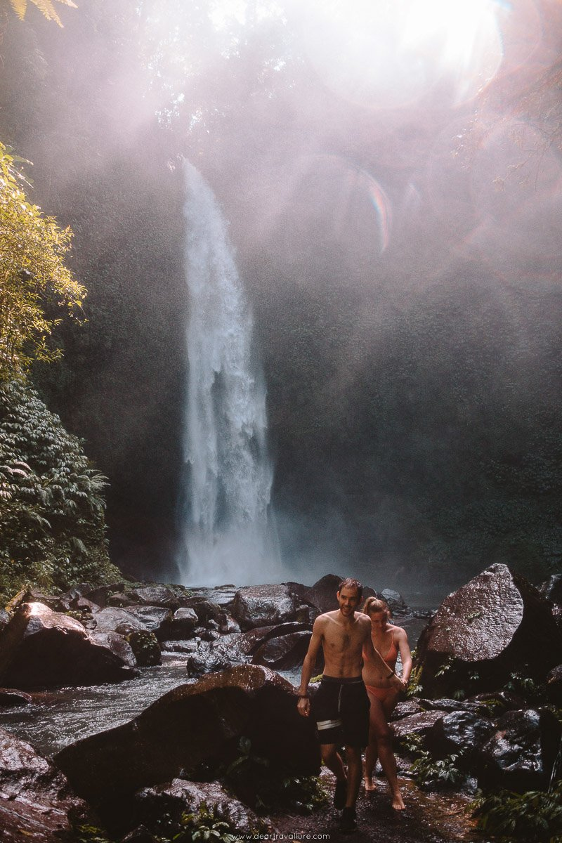 Couple at Nung Nung Waterfall
