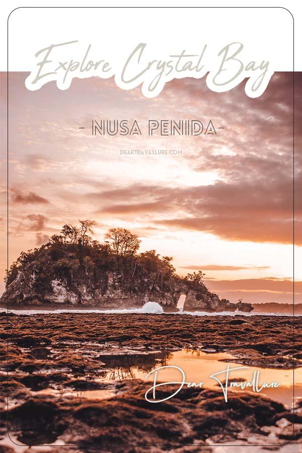 Explore Crystal Bay On Nusa Penida - Pinterest Template