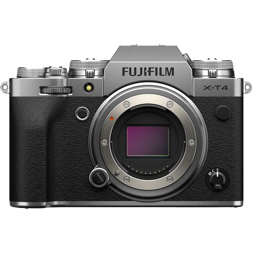 Fujifilm X-T4 Camera Body Without A Lens To Reveal The Sensor