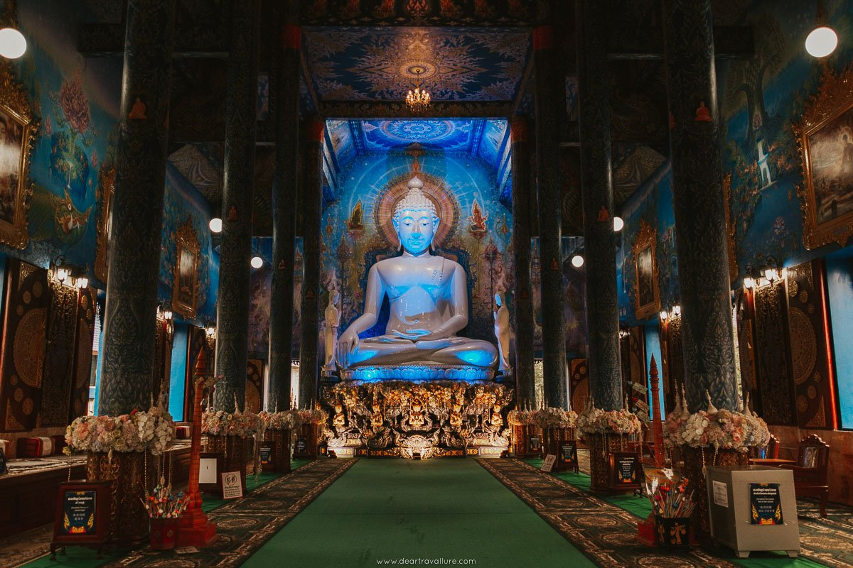 Inside the Blue Temple in Chiang Rai