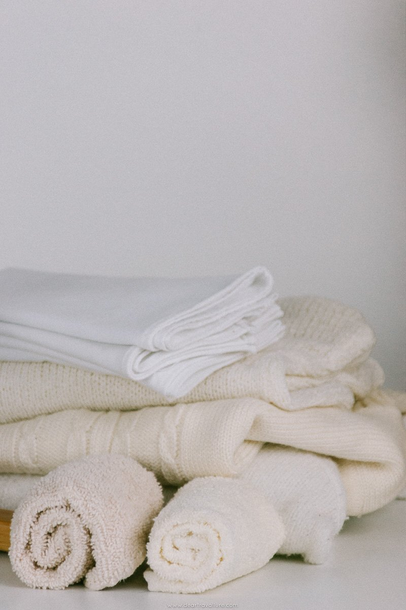 White and Cream Linen and Knitwear