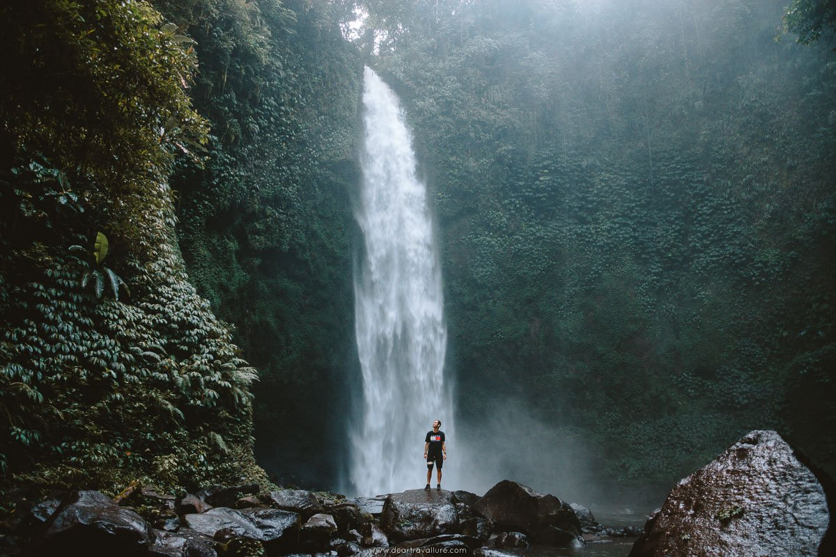 Byron standing in front of Nung Nung Waterfall