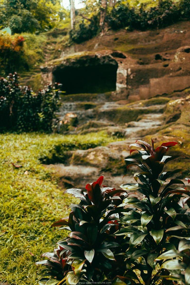 The Beautiful Temple Grounds of Goa Gajah, Elephant Cave