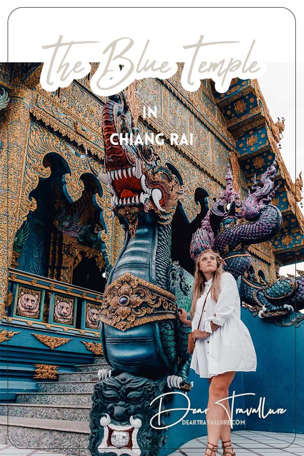 The Blue Temple In Chiang Rai - Pinterest Template