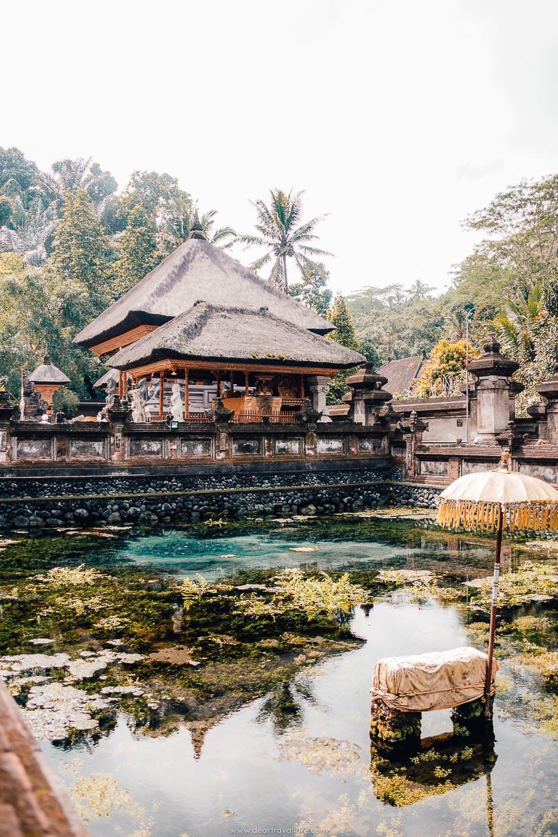 The Holy Spring Water of Pura Tirta Empul