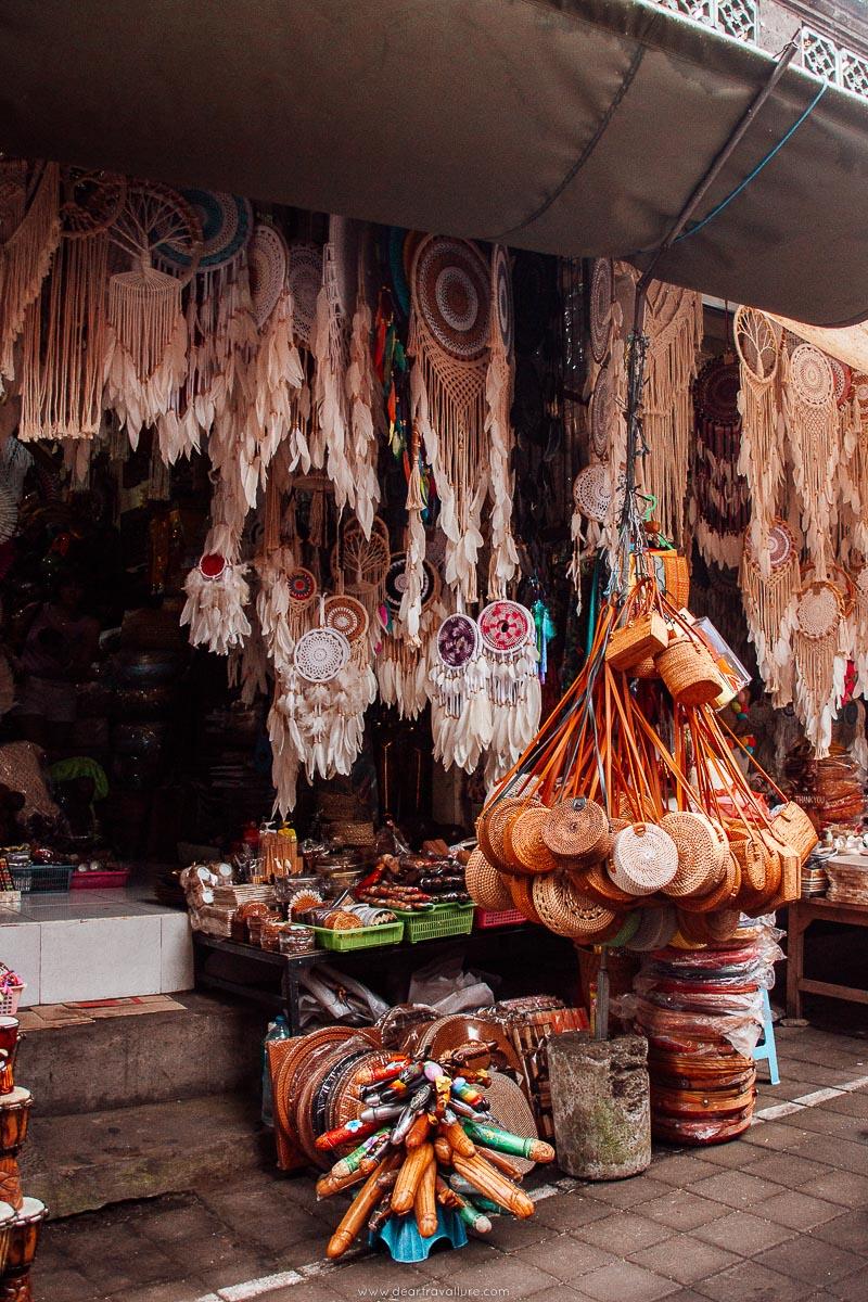 Arts and Crafts at Ubud Art Market