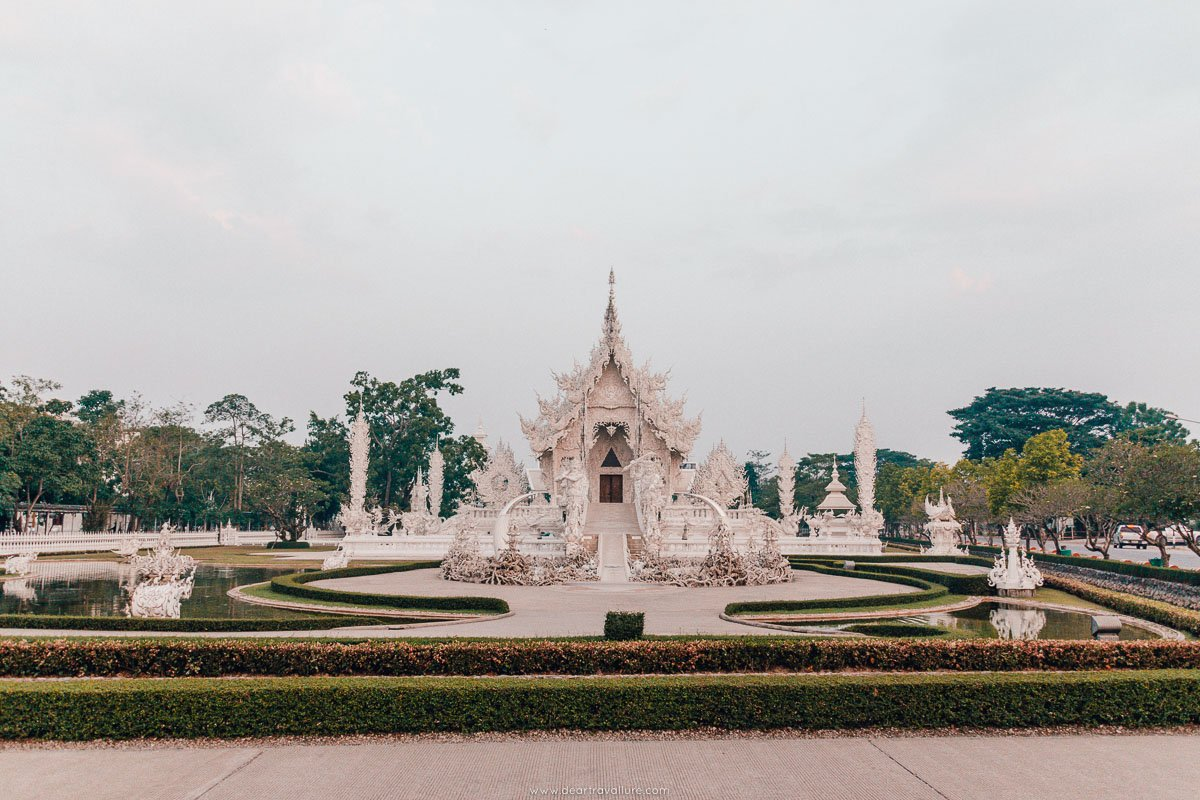 Full View of The White Temple