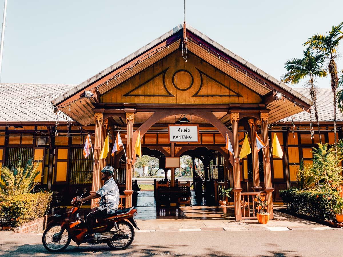 The Kantang Train Station