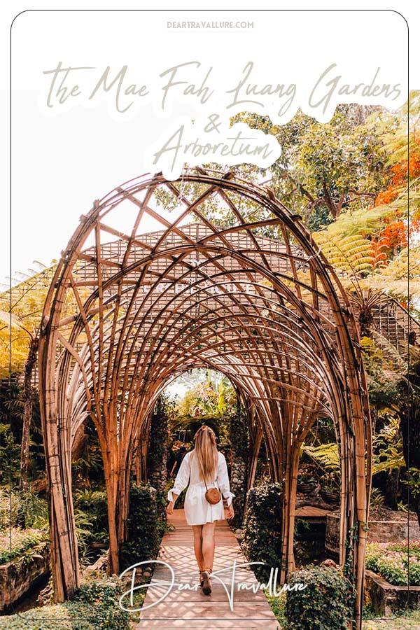 Mah Fah Luang Gardens Pinterest Image