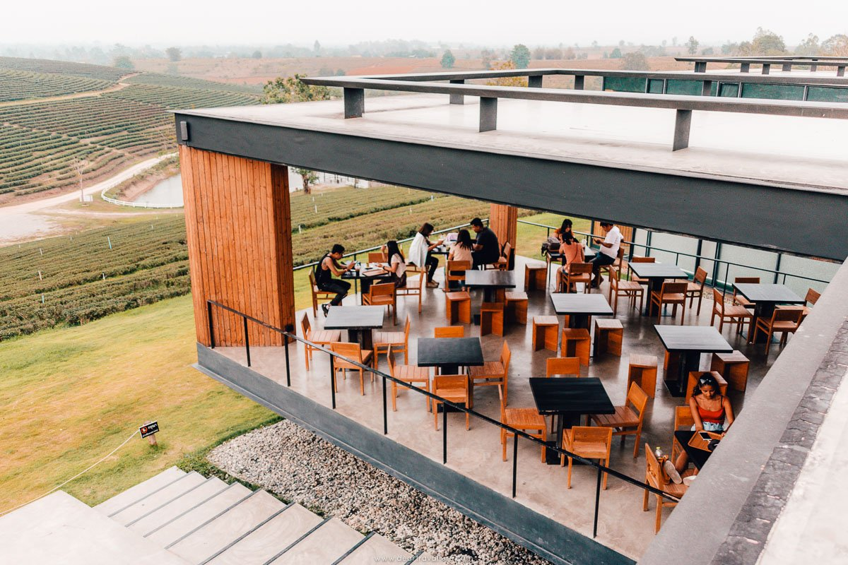One of the Coffee Shops at Choui Fong Tea Park-