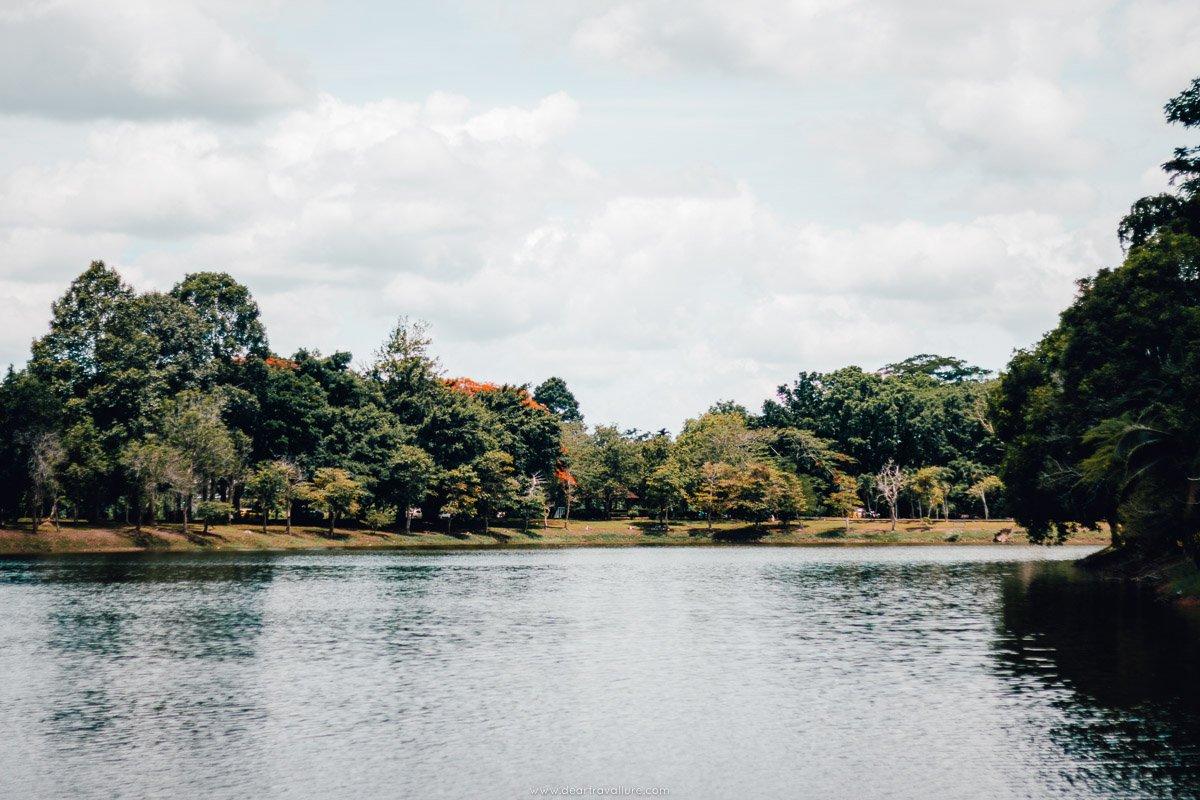 The lake at the Princess Mother Park