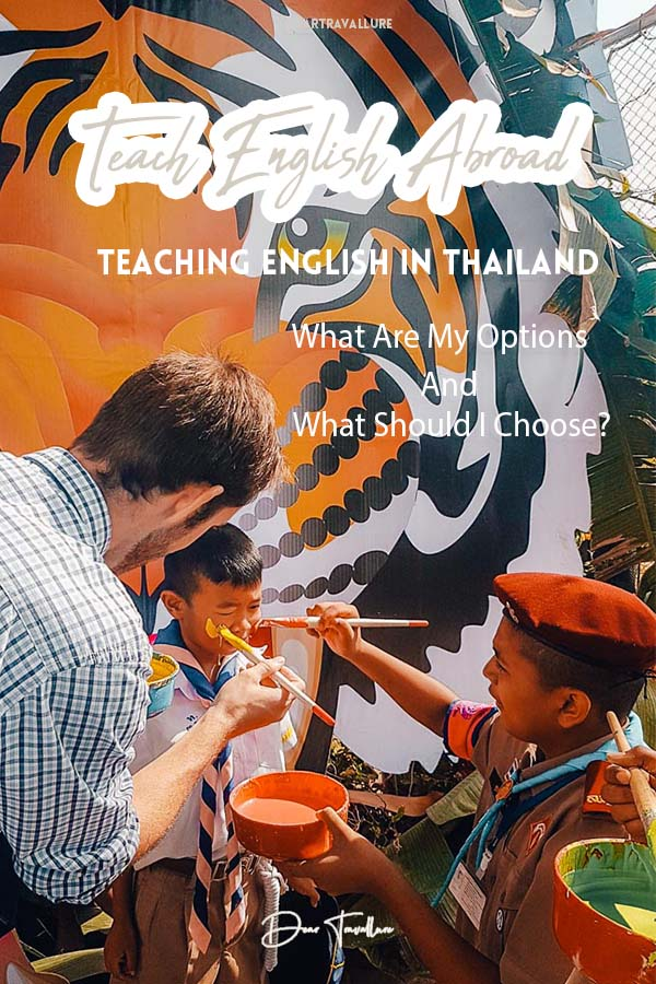 Teaching in Thailand- What are my options Pinterest Image