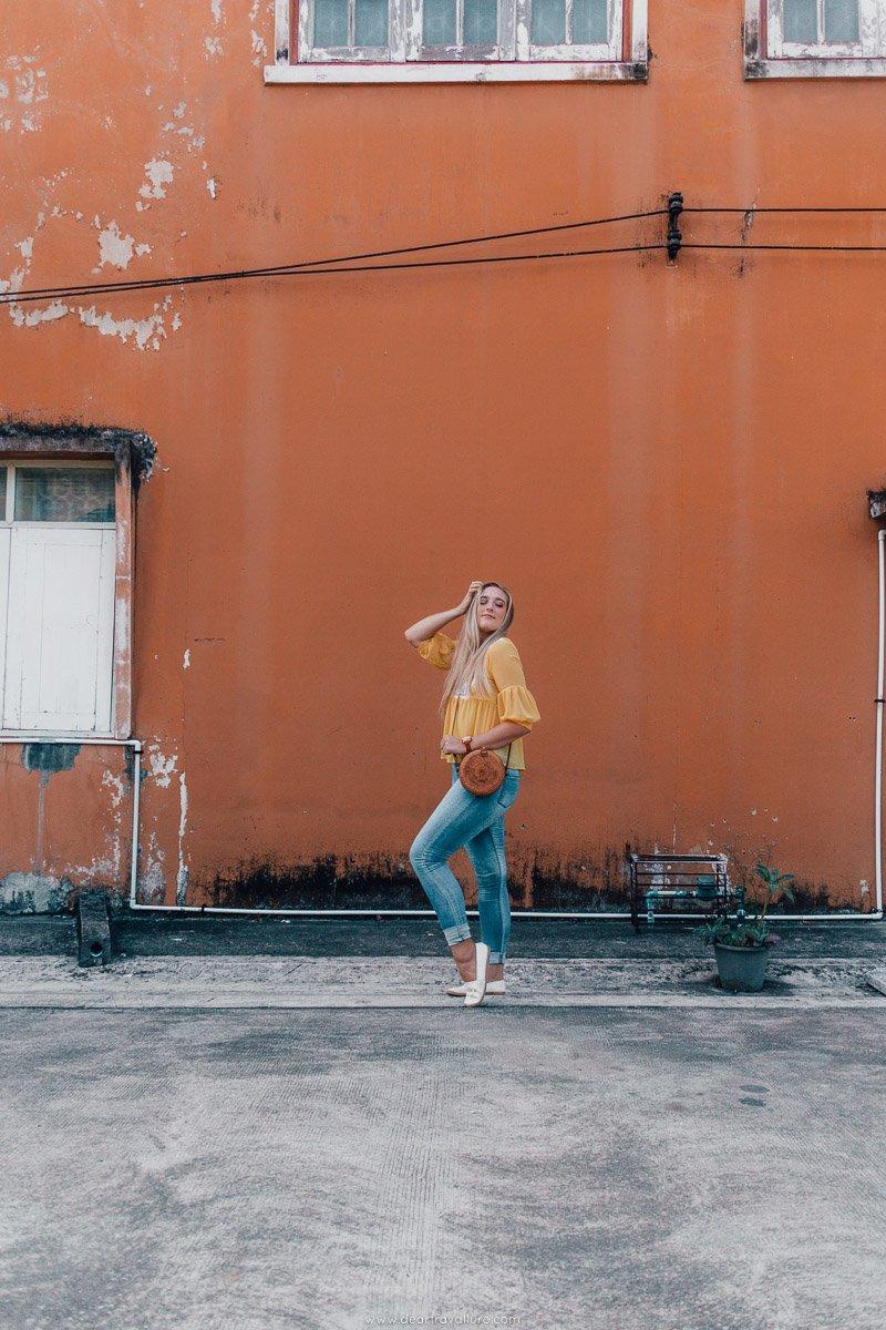 Tammy Walking around Trang