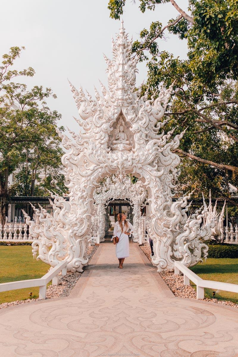 Wat Rong Khun Architecture