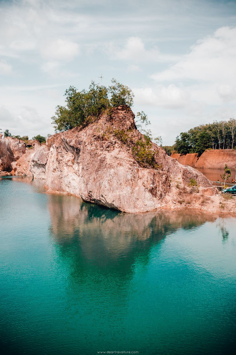 The Phatthalung Grand Canyon and water