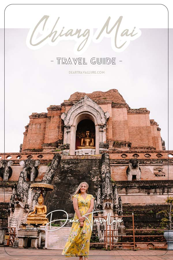 Pinterest Image for the Chiang Mai Travel Guide