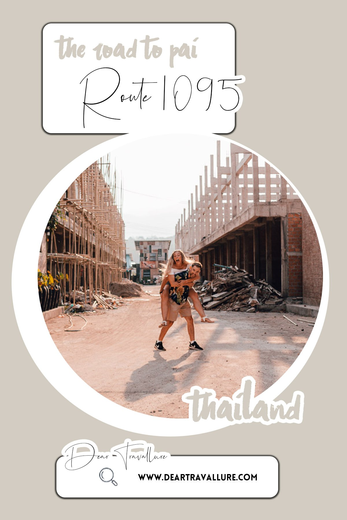 Route 1095 || Chiang Mai to Pai - Pinterest Image