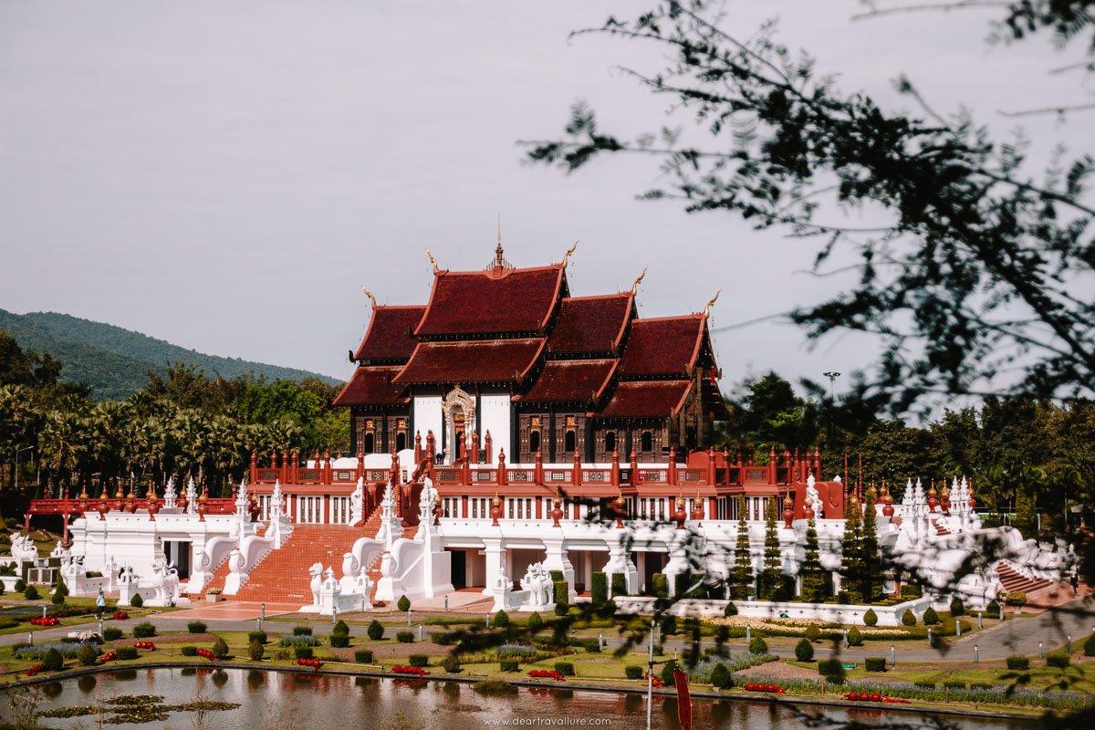 The pavilion in the Royal Park Rajapruek