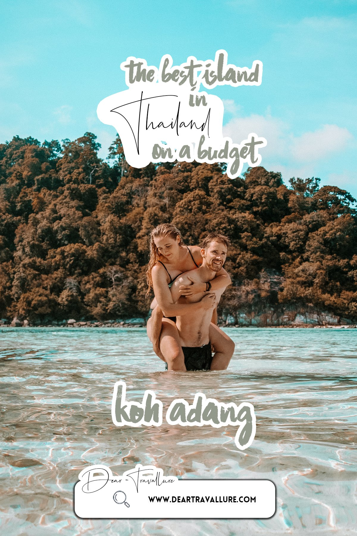 The Best Island - Koh Adang - Pinterest Image