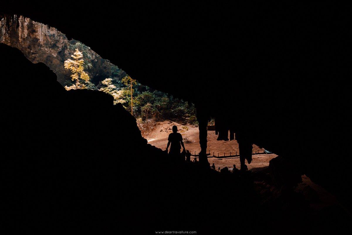 Approaching Phraya Nakhon Cave