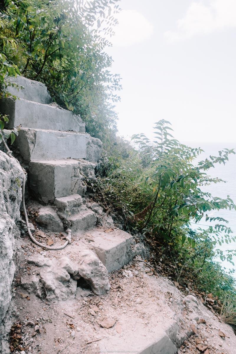 Broken Stairs at Suwehan Beach