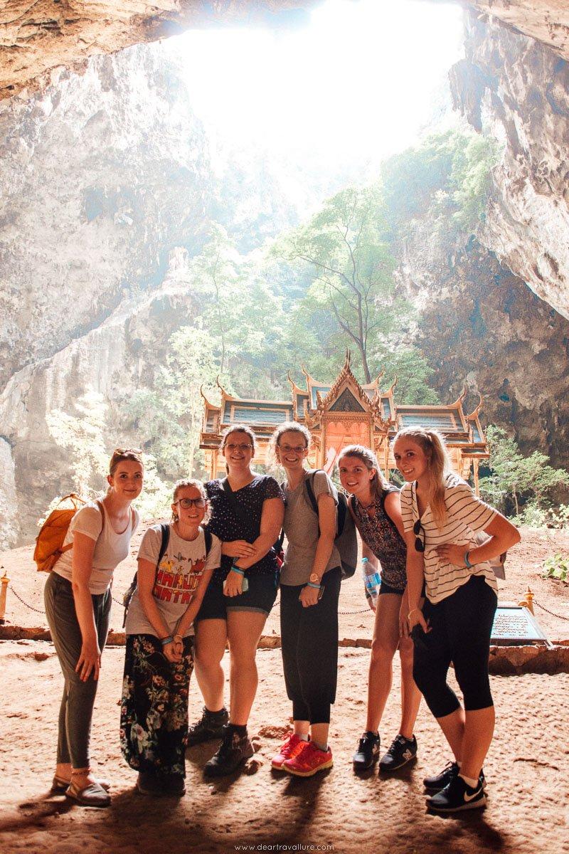 Friends at Phraya Nakhon Cave