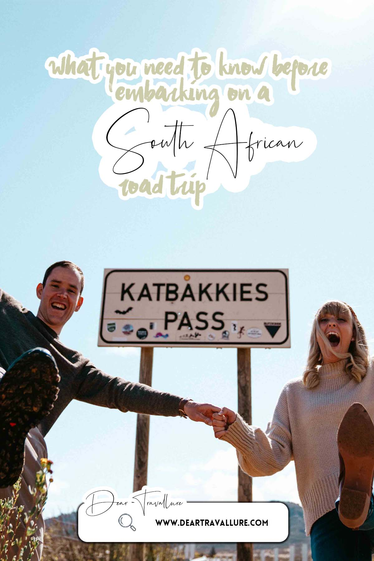 What You Need To Know Before You Embark On A South African Road Trip - Pinterest Image