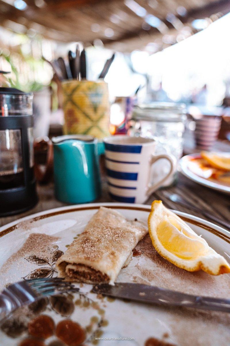 Pancakes at Bagdad Café