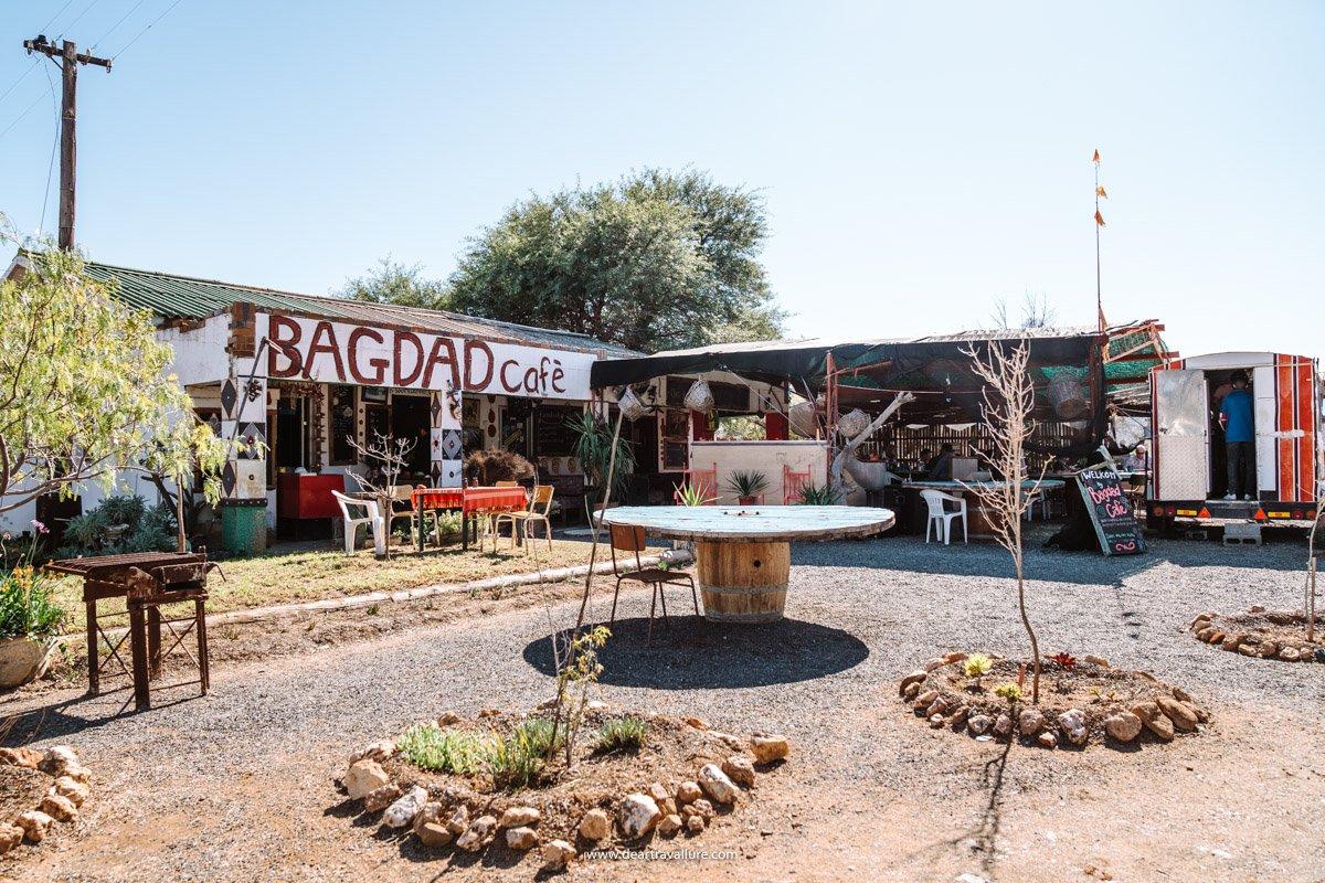 Bagdad Café Entrance
