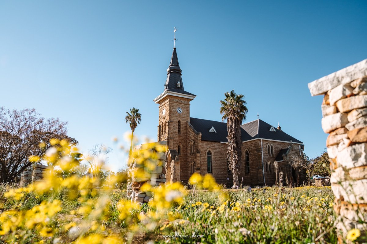 Yellow Flowers and an NG Kerk