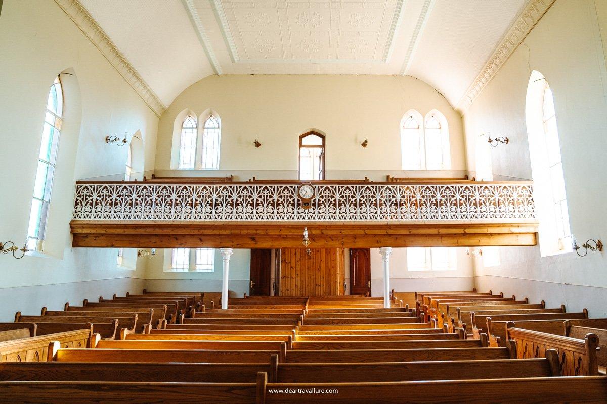 Inside the old NG Kerk